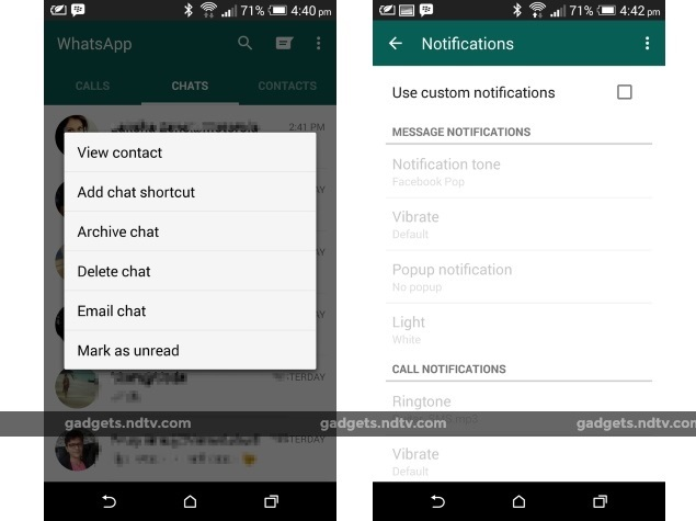 WhatsApp for Android Update Brings Back Google Drive ...