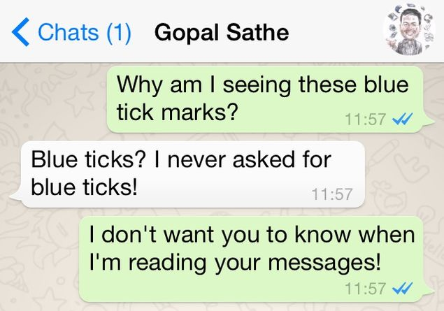 Why WhatsApp Blue Ticks Have Really Ticked Us Off