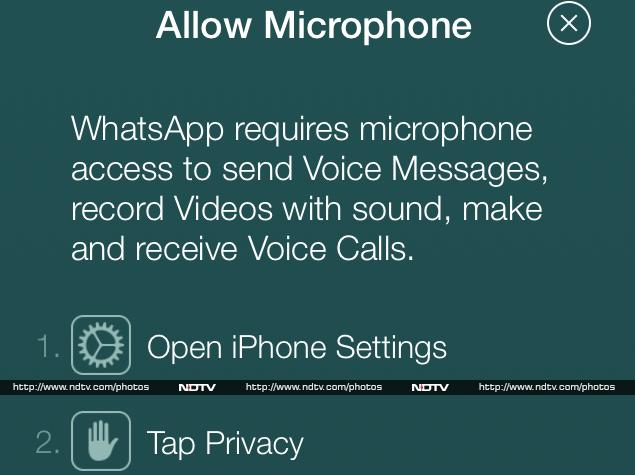 WhatsApp iPhone App Confirms Voice Calling Feature Launch Imminent