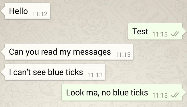 How To Remove Whatsapp Blue Ticks Aka Read Receipts Ndtv