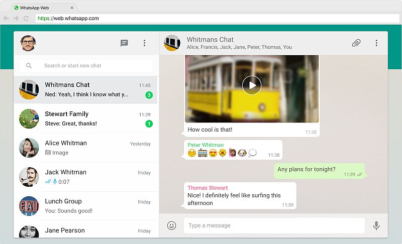 WhatsApp Web Now Supports Document Sharing
