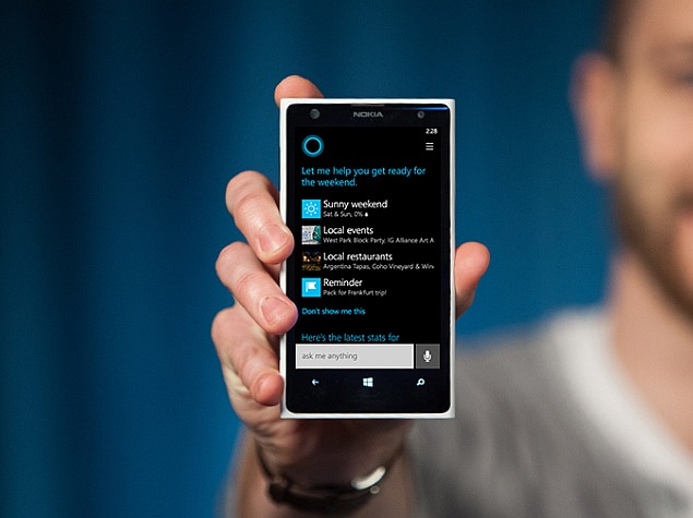 Cortana Coming to India as Microsoft Plans Expansion