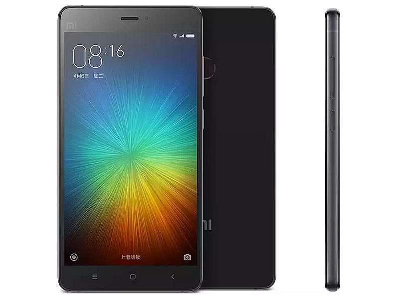 Xiaomi Mi 4S With Snapdragon 808, Fingerprint Scanner Launched