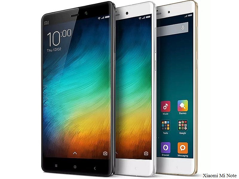 Xiaomi Mi Note 2 Price Tipped; Rumoured to Sport 12-Megapixel Dual Camera