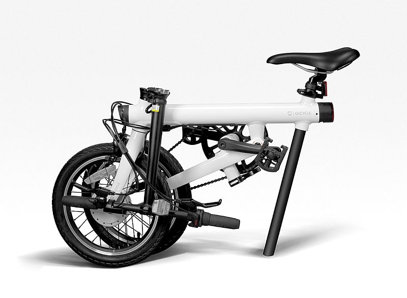 xiaomi qicycle electric folding bike launched technology. Black Bedroom Furniture Sets. Home Design Ideas