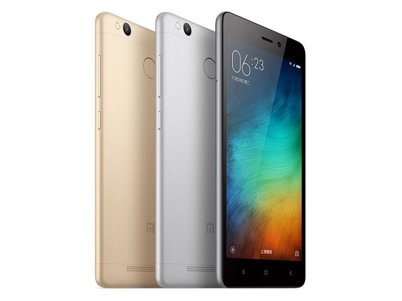 Xiaomi Redmi 3 'Pro' With 3GB of RAM, Fingerprint Sensor Launched