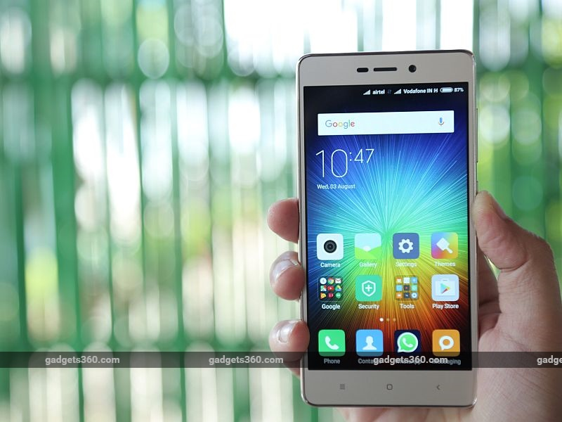 Xiaomi Redmi 3S With 4100mAh Battery Launched: Price, Specifications, and More