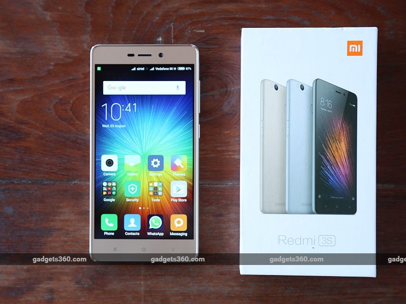 Xiaomi Redmi 3S First Look