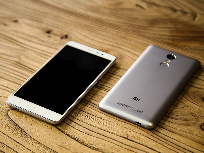 Xiaomi Redmi Note 3 With Full Metal Body Fingerprint Scanner Launched