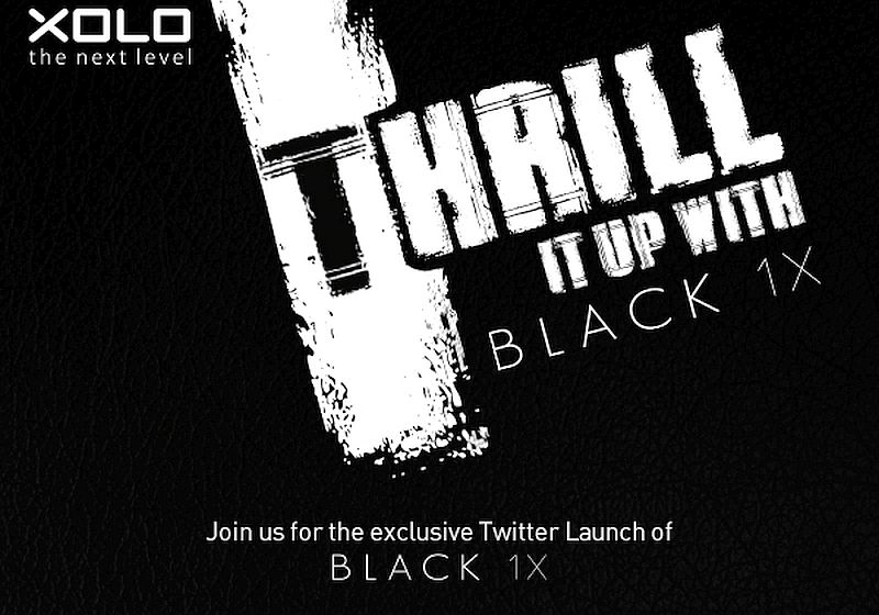 Xolo Black 1X Set to Launch on Wednesday; Specifications Tipped