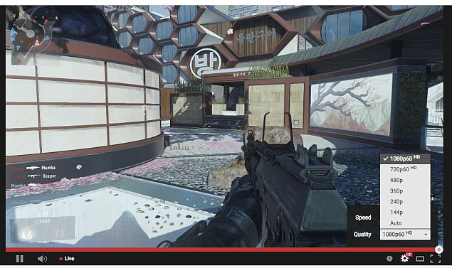 YouTube Now Supports 60fps Live-Streaming in Bid to Take on Twitch