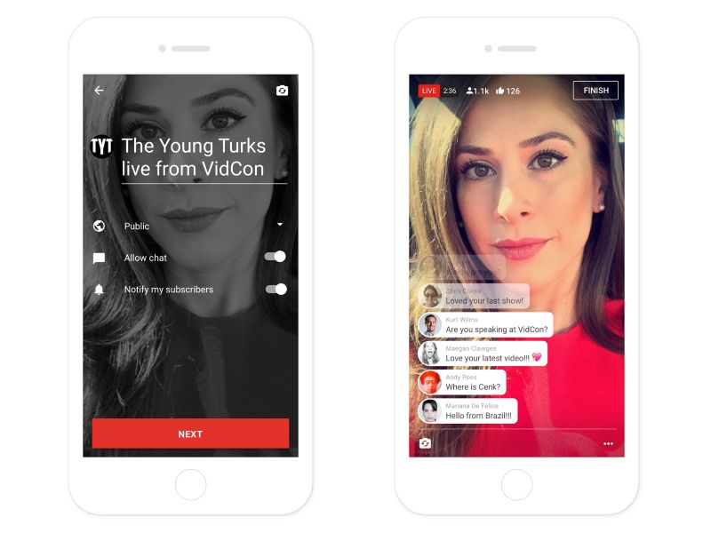 YouTube Adding Ability to Live Stream Video to Its Android, iOS Apps
