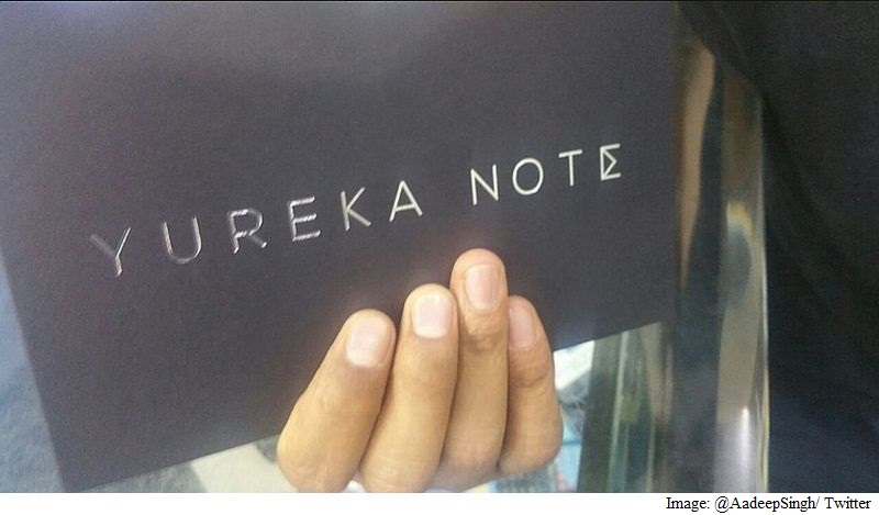 Yu Yureka Note With 6-Inch Display Spotted; Price Rs. 14,999